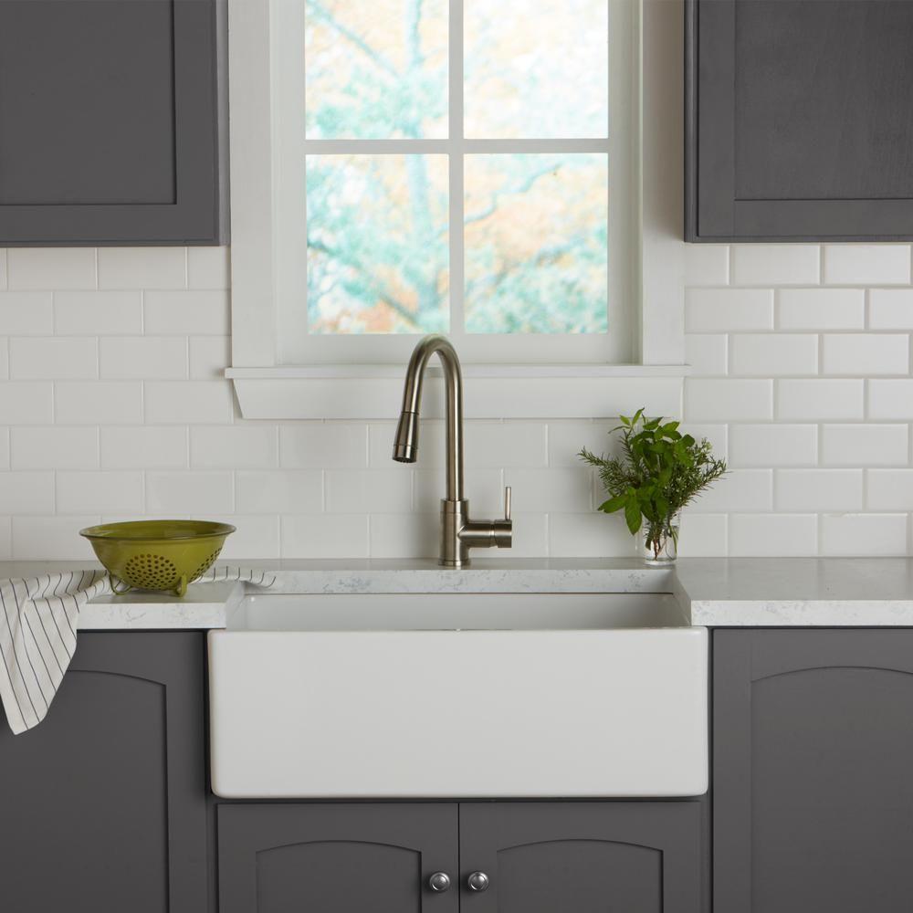 Daltile Restore Bright White 3 in. x 6 in. Ceramic Modular Wall Tile ...