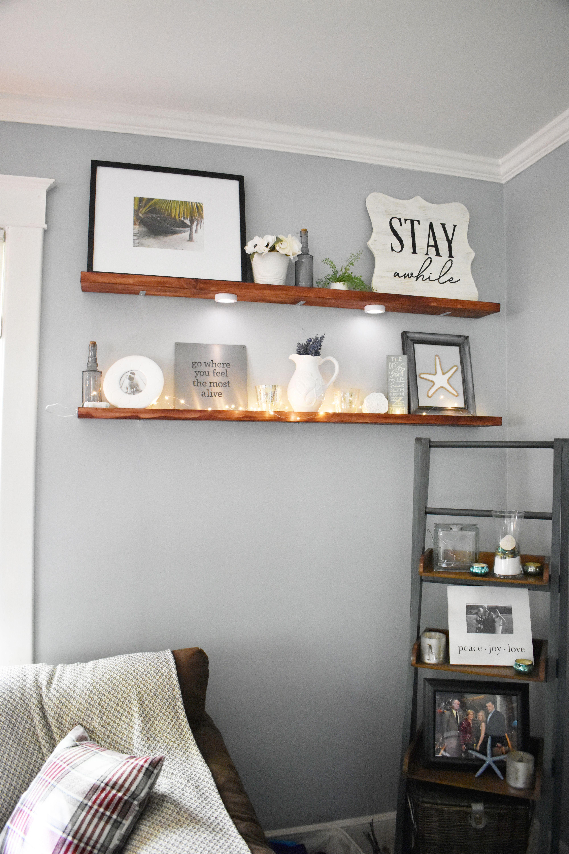 4 Staggering Diy Ideas Floating Shelves Bedroom Dark floating