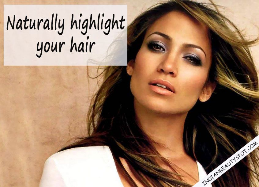Natural Highlights With Homemade Hair Treatments