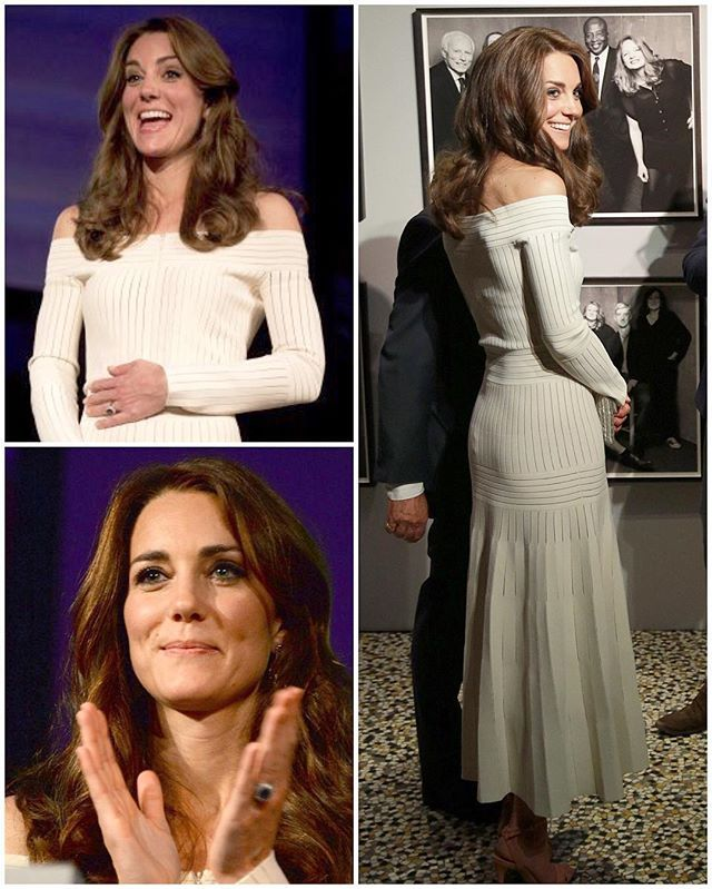 The Duchess attended a dinner tonight hosted by the Natural History Museum where she was given the job of presenting the Art Fund Museum of the Year 2016 award.  The £100,000 prize is given out annually to one outstanding museum which as shown exceptional imagination, innovation and achievement in the preceding year. This year's winner was The Victoria and Albert Museum located in South Kensington, London. Inside, Kate was greeted by former culture secretary Lord Chris Smith who said: 'It…