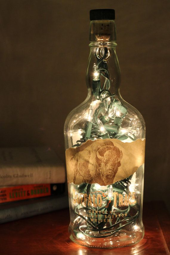 Whiskey Bottle Ambient Light Whiskey Bottle Crafts Beer