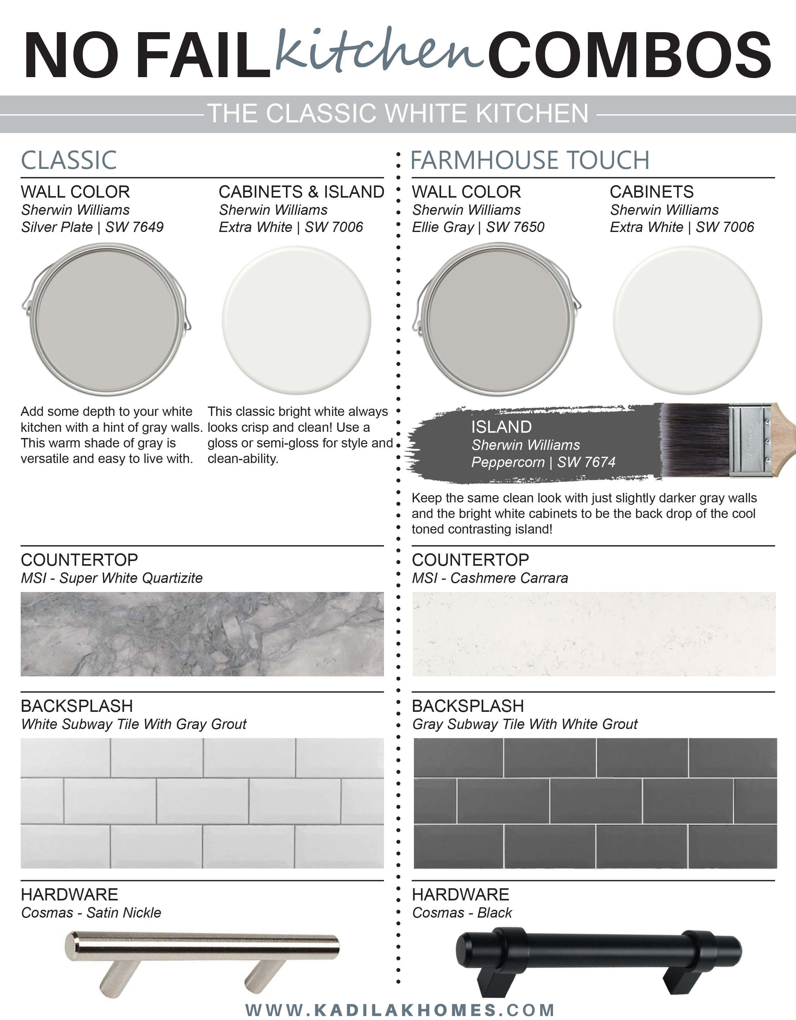 The Classic White Kitchen Design Guide by Kadilak Homes   Classic ...