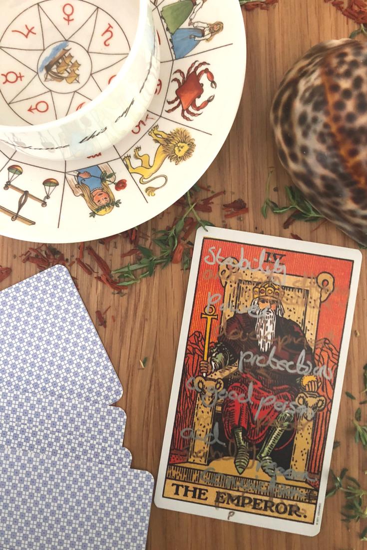 The Emperor: Predictive Tarot Card Meanings | Spirit | Tarot card