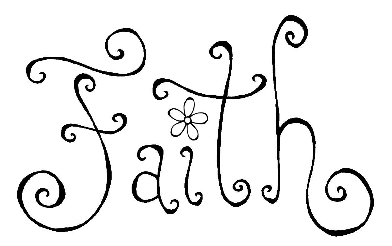 Images For > The Word Believe In Cursive Tattoo | Digital ...