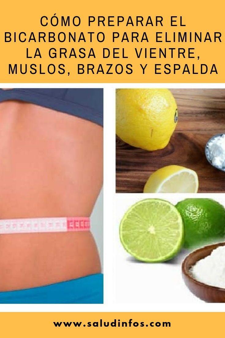 bajar de peso y eliminar grasa