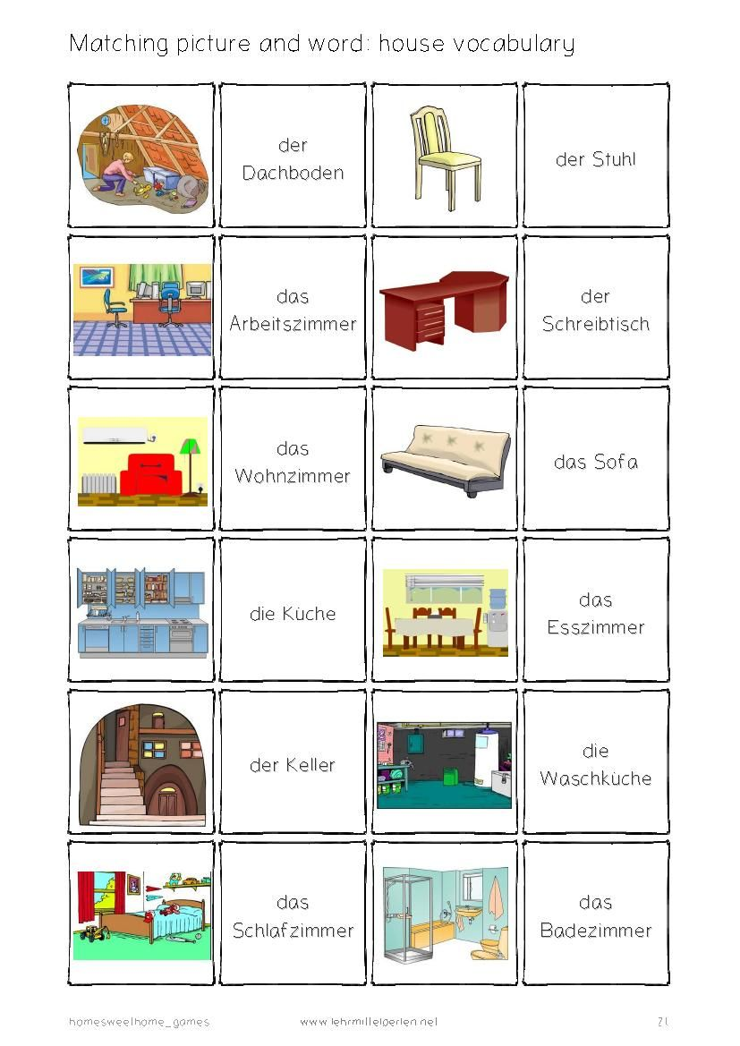 German Words: Home Sweet Home in 2018 | easy german | Pinterest ...