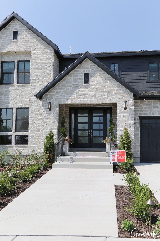 Ingresso Casa Esterno In Pietra beautiful exterior home design trends #exteriorhousecolors