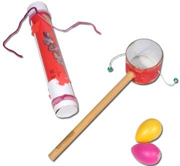 Percussion-Making Activities for Kids | Big Drum