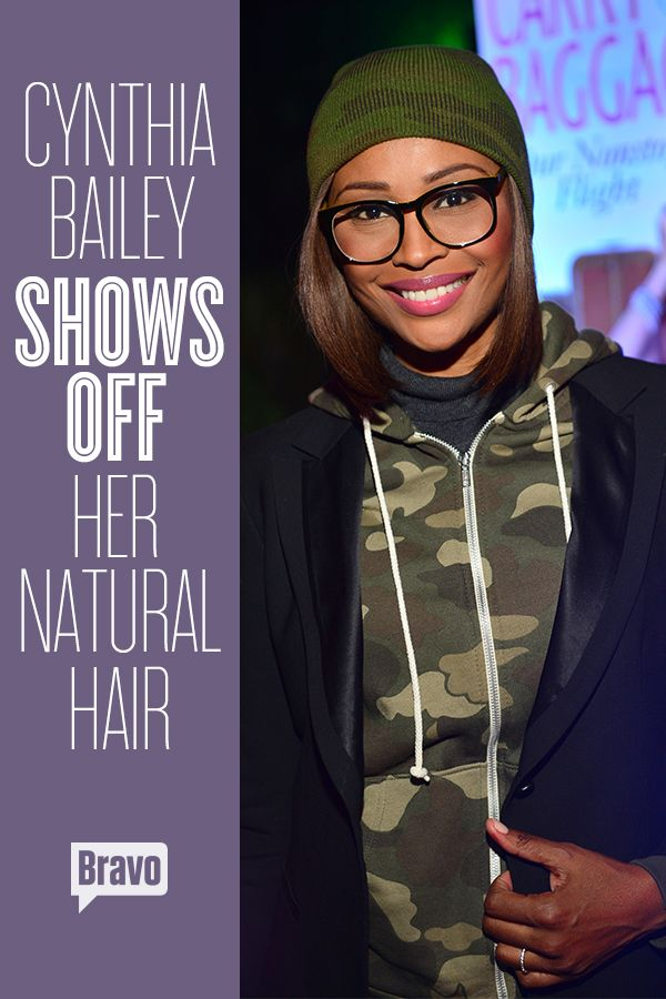 Cynthia Bailey Shows Off Her Natural Hair See The Pics Cynthia Bailey Natural Hair Styles Cynthia