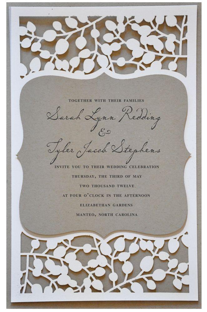 Original invitación de boda, ¿te gusta?
