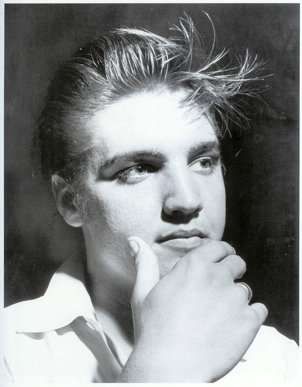 Elvis Presley Natural Blond Hair Elvis Presley Elvis Presley