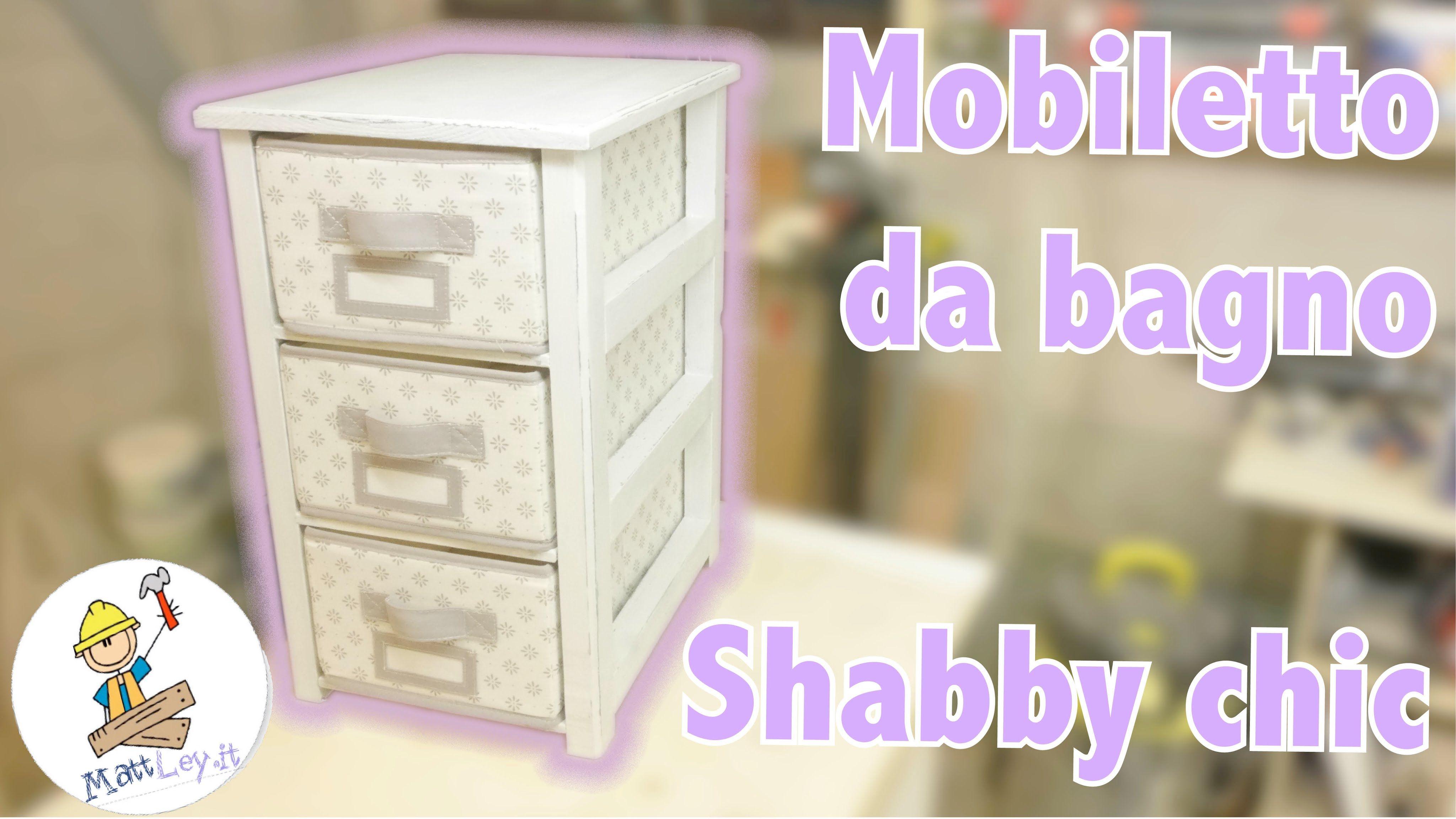 Mobile Da Bagno Fai Da Te : Come costruire un mobile da bagno shabby chic fai da te fai da