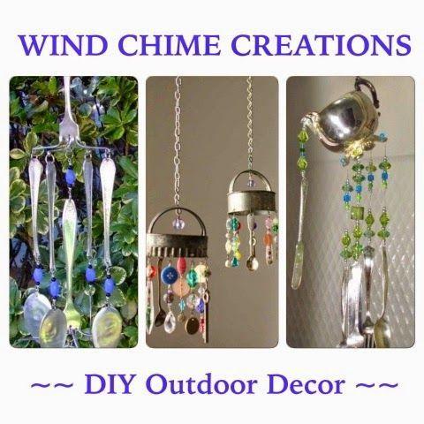 Momma Mia Moments : Outdoor Projects and Decor! Handmade Wind Chimes #mommamia Momma Mia Moments : Outdoor Projects and Decor! Handmade Wind Chimes #mommamia