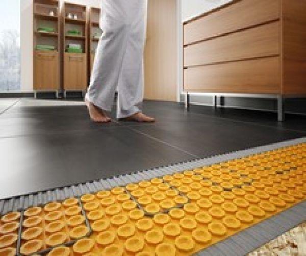 Schluter Ditra Heat Fine Homebuilding Floor Heating Systems Flooring Heating Systems