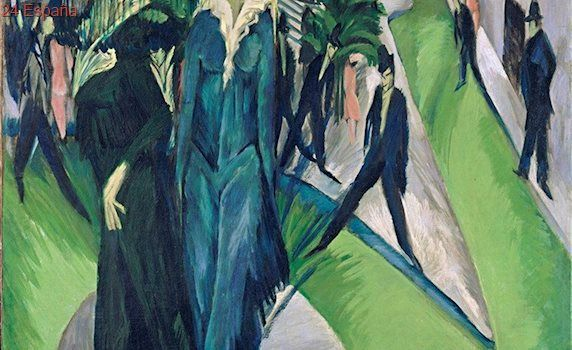 Kirchner, el pintor expresionista torturado por el siglo XX