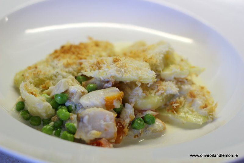 Smoked fish and artichoke gratin smoked fish recipes