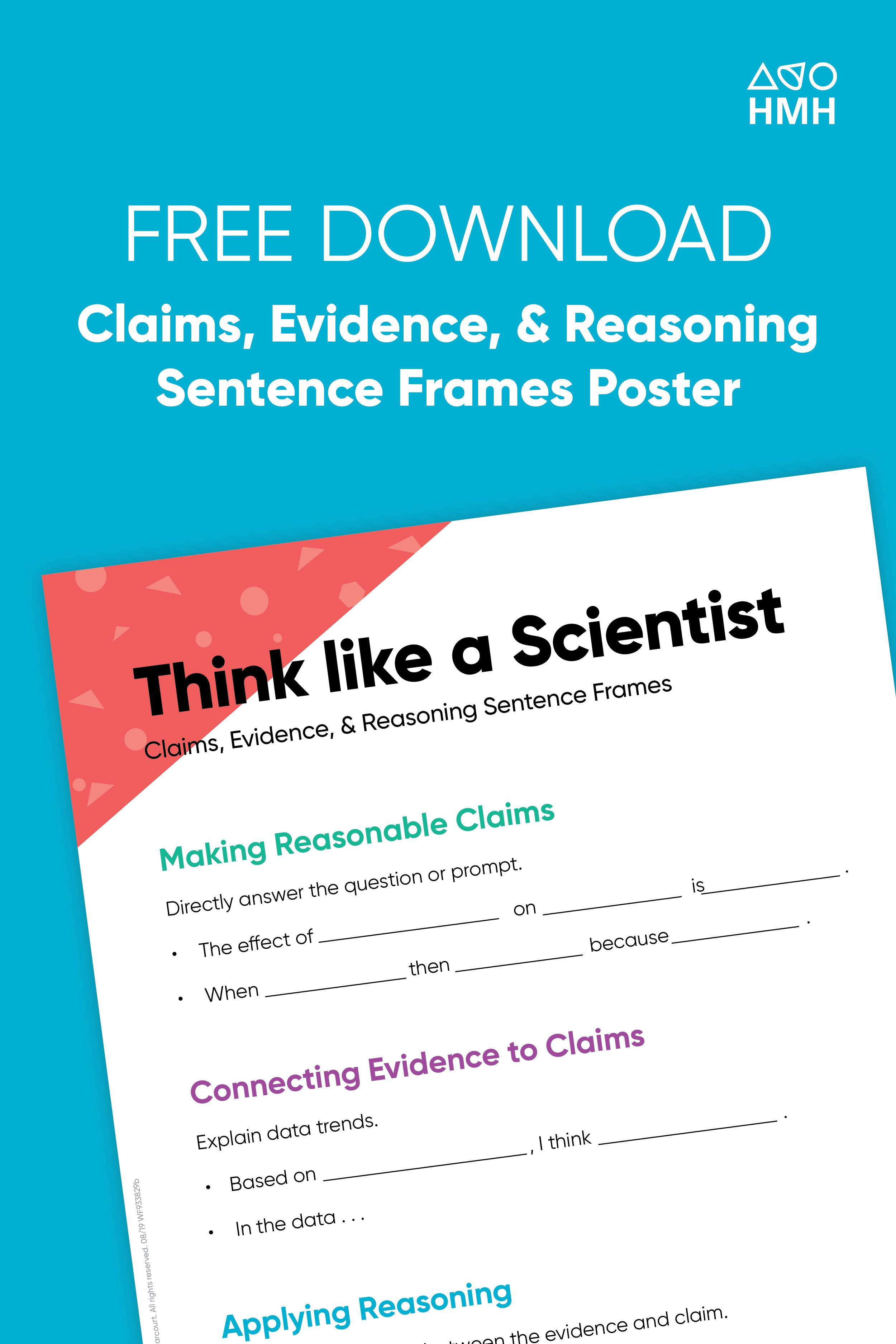 Download Think Like A Scientist Posters For Your Classroom