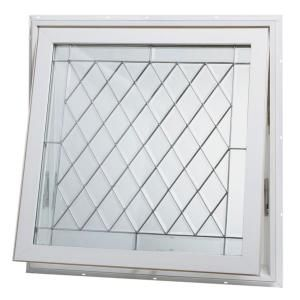 Tafco Windows 32 In X 32 In Awning Vinyl Window White