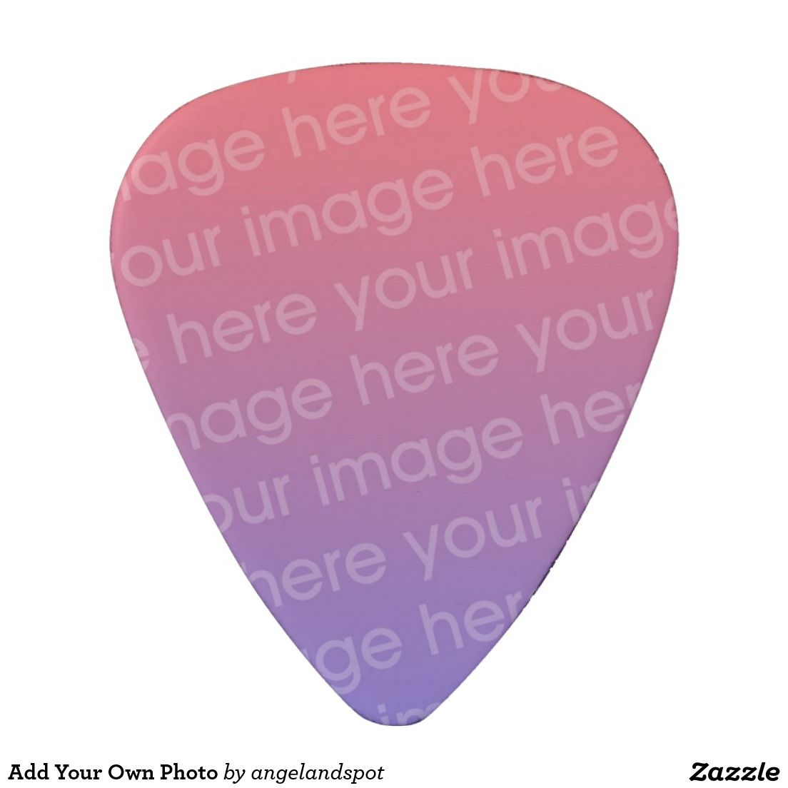 Add Your Own Photo Guitar Pick | Guitar Picks | Pinterest | Guitar ...