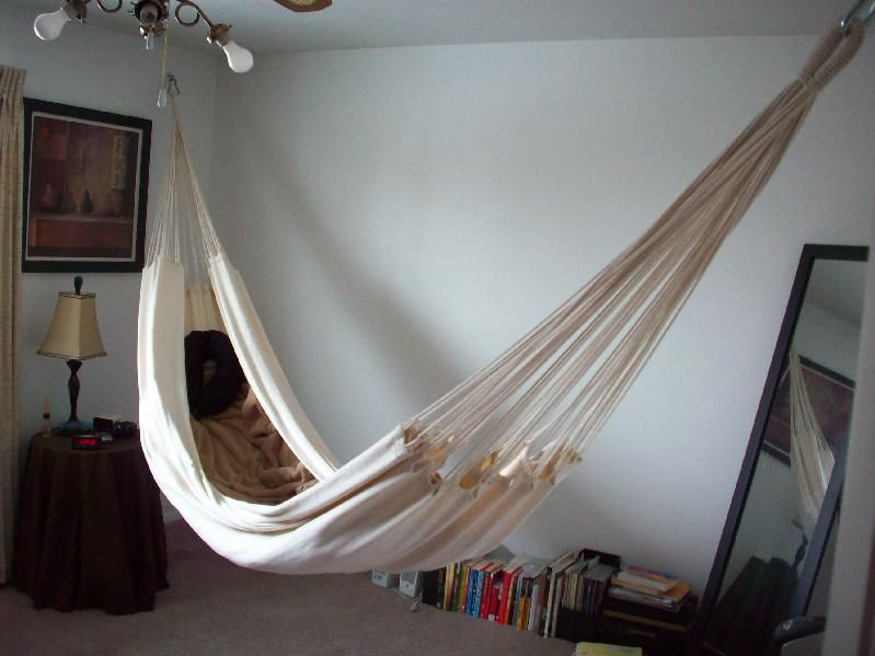 Hanging On Walls Ceiling In Bedroom Hammock Forums