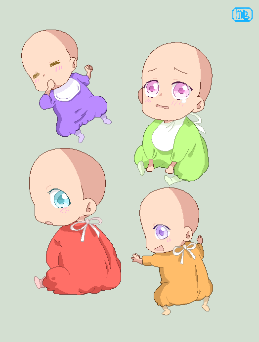 Hetalia Baby Base Drawing Base Art Anime Base