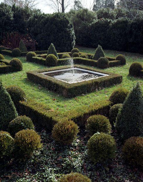 Charles Stick S Waverly Farm Garden Design Landscape Design Boxwood Garden