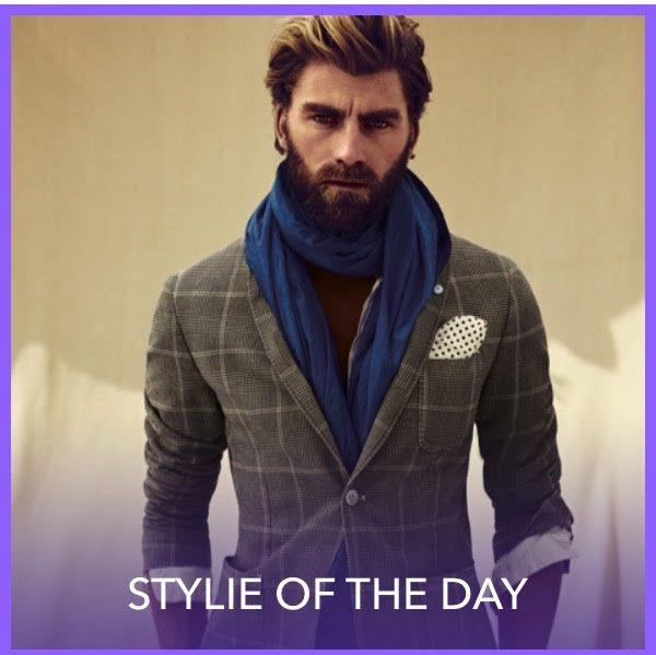 Download Fashom app for more fabulous men style inspiration.