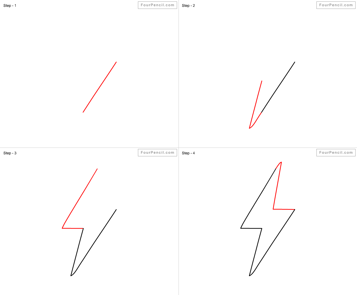 How to draw Electricity for kids - slide 1 - Click to enlarge   How ...