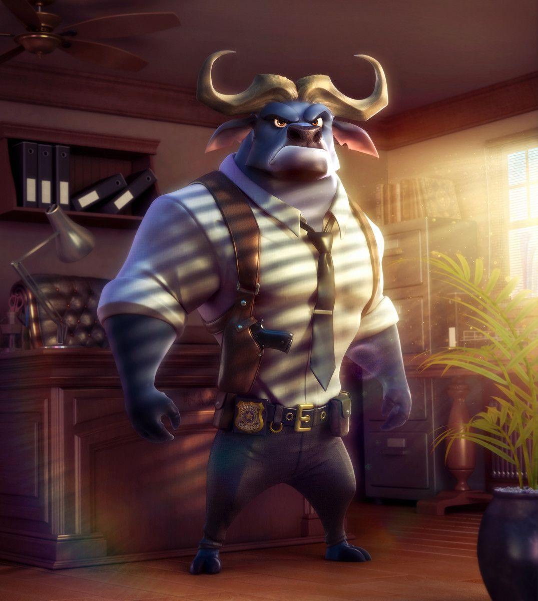ArtStation Detective Bogo Zootopia Fanart, Philip