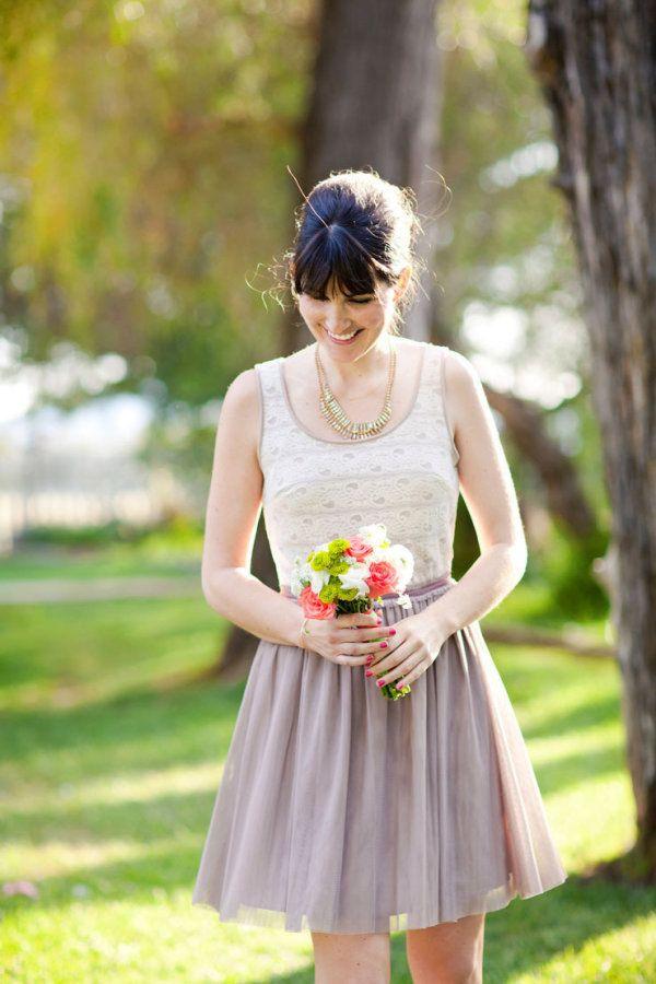two tone bridesmaids dresses