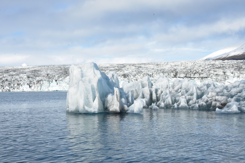 Bloques de hielo en el lago Jokursarlon