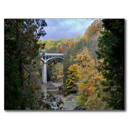 Postcard Elora Gorge Conservation Area, Ontario Carte Postale