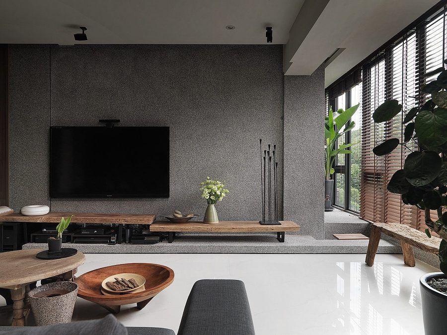 Ufficio Zen Zen : Interior natural zen style 평 젠 스타일 아파트