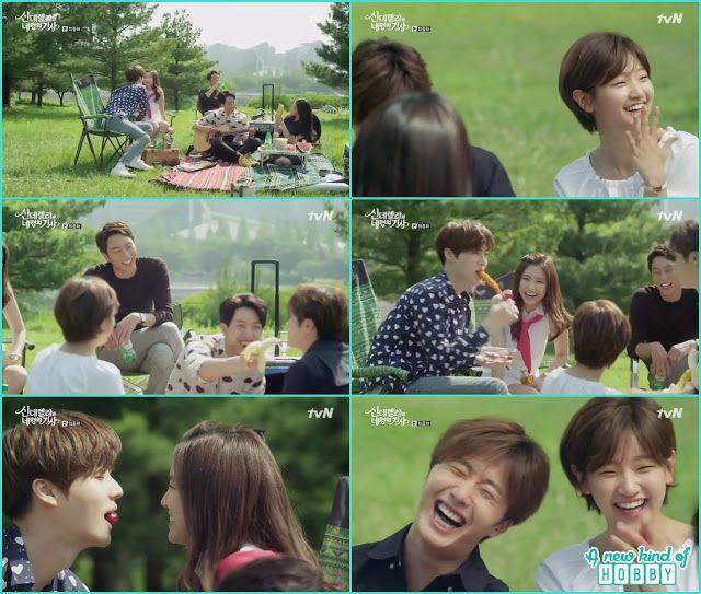 Kang Cousin Yoon Sung Ja Young Hye Ji Ha Won Picnic Happy Ending Cinderella And Four Knights Episode 16 Cinderella And Four Knights Cinderella Knight