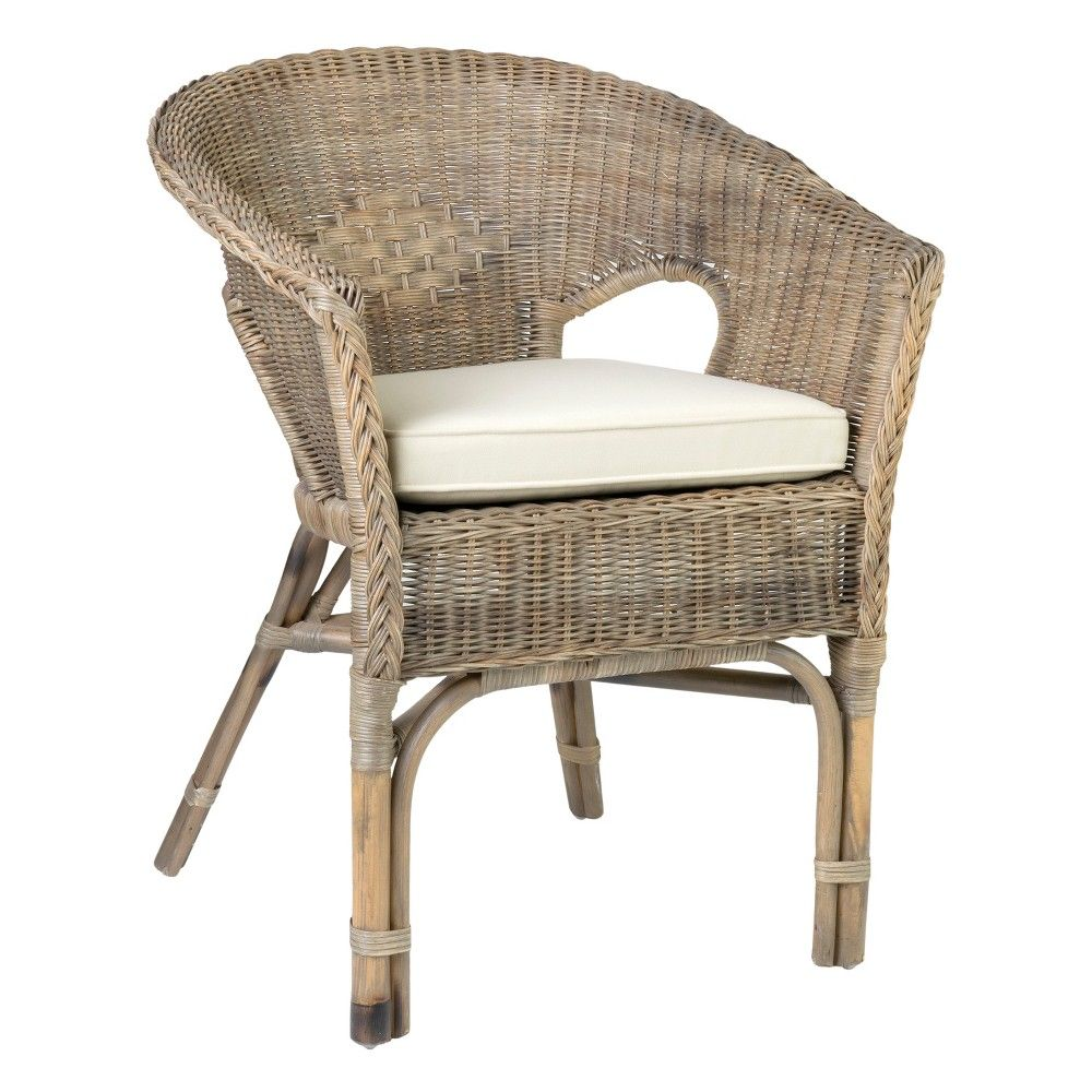 Collins Rattan Accent Chair Brown East At Main Adult Unisex Gray World Market Dining Chairs Furniture Patio Dining Chairs