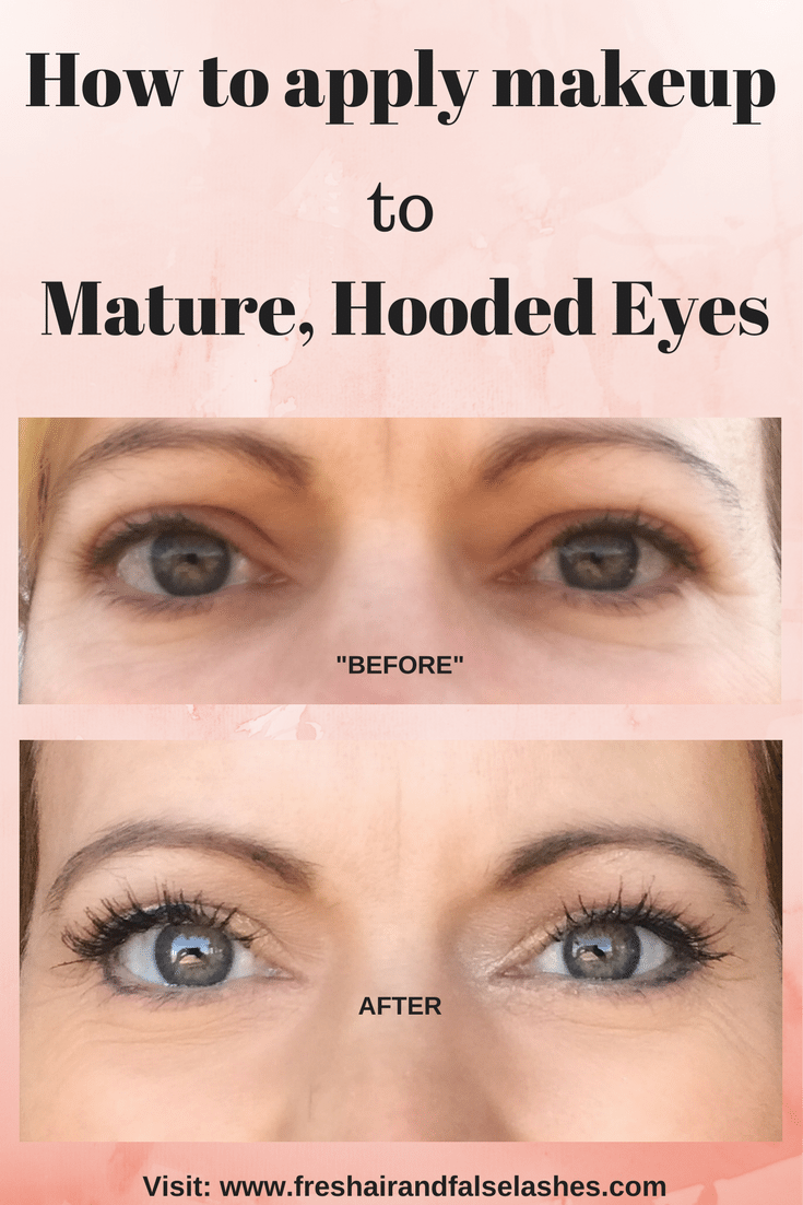 How to Apply Everyday Makeup for Mature, Hooded Eyes. Tips ...
