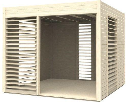 pavillon modern art 264 x 256 cm natur kaufen bei. Black Bedroom Furniture Sets. Home Design Ideas