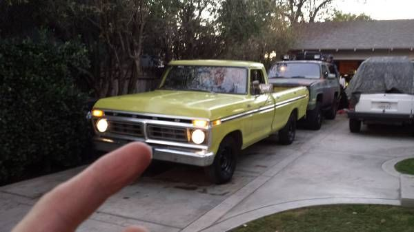 Ford F  Ranger Long Bed Inline  Motor Manual Transmission  Speed Tremendous Amount Of Torque In This Truck   Ton Rear End