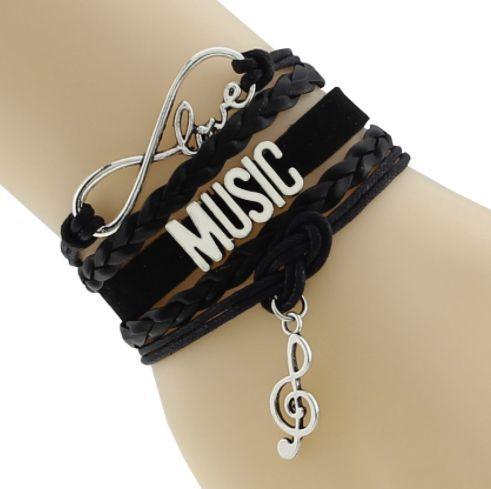 Cool Love Music Bracelet