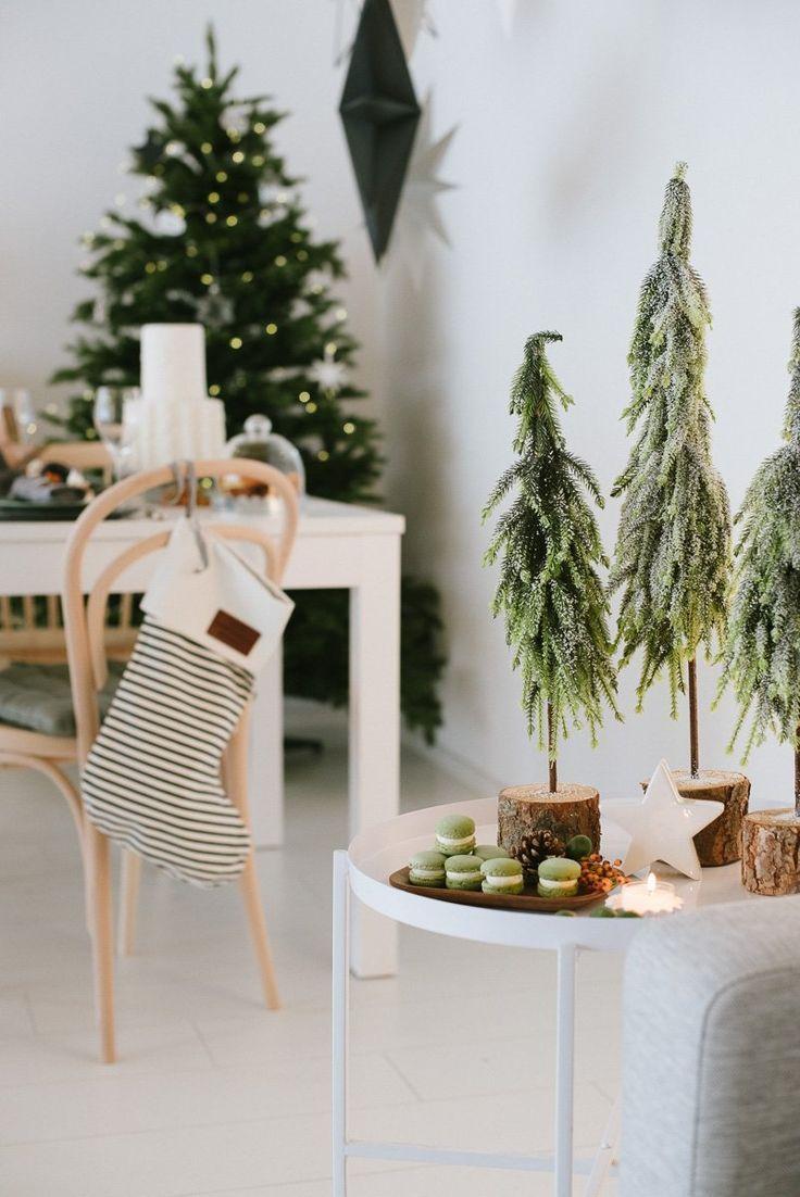 Nordisch gemütliche Weihnachtsdekoration - Fräulei