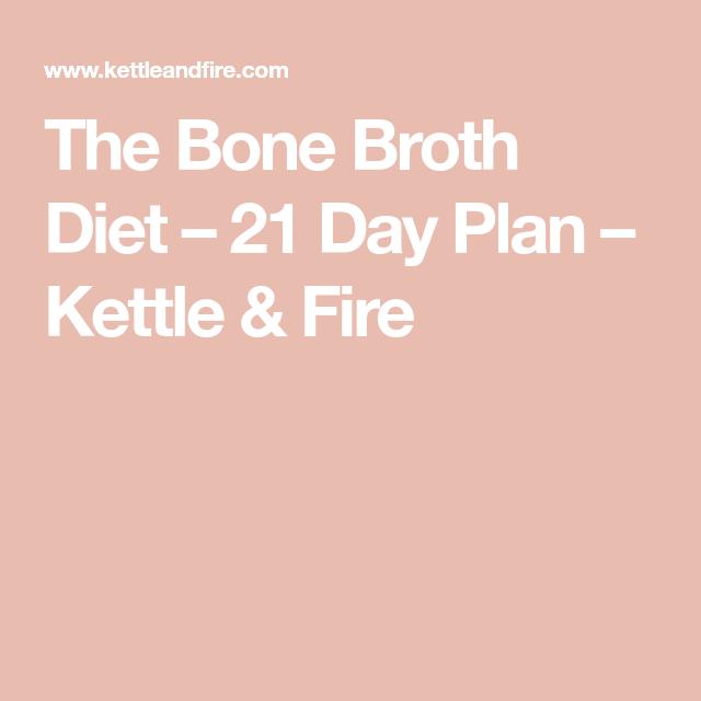 21 day bone broth diet meal plan