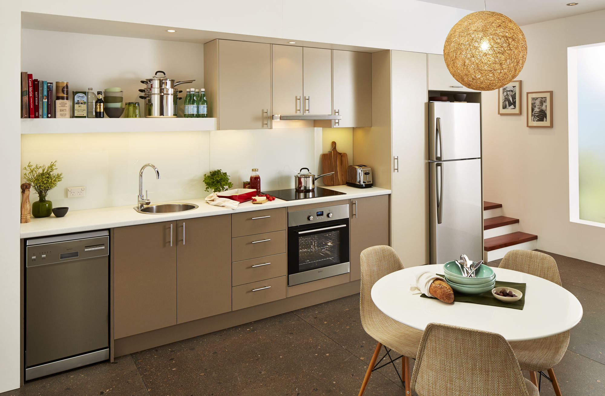Bunnings Kitchen Design Ideas ~ Studio style kitchen inspiration package at