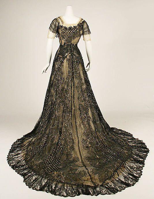 1906-08 edwardian dress   Tumblr