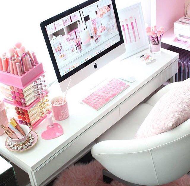 Girly Desks missdiva | room ideas | pinterest | girly, vanities and desks