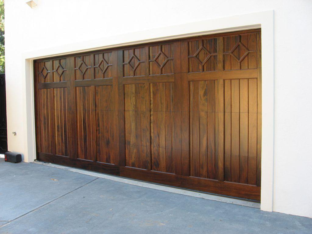 Custom Wood Doors Overhead Door Company of Conroe garage doors