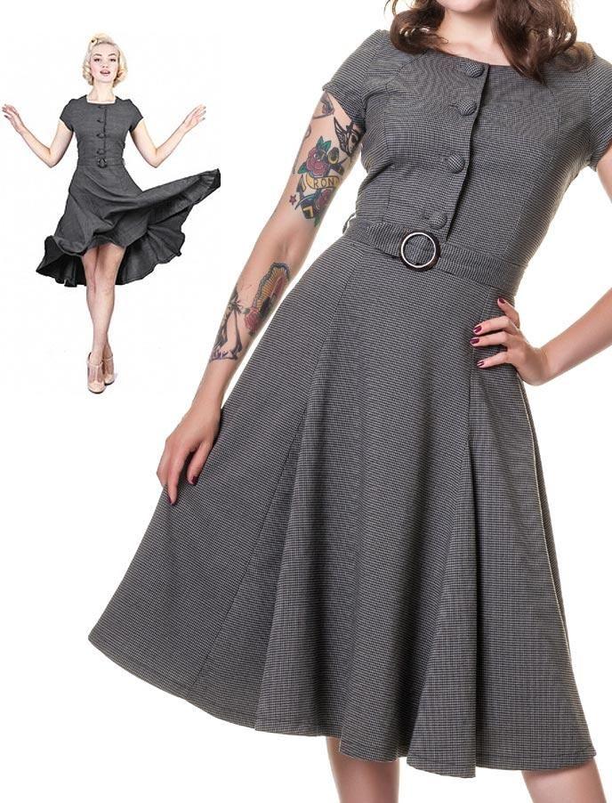 170edb7f310fc9 Simone grey - Rockabilly Clothing - Online Shop für Rockabillies und  Rockabellas