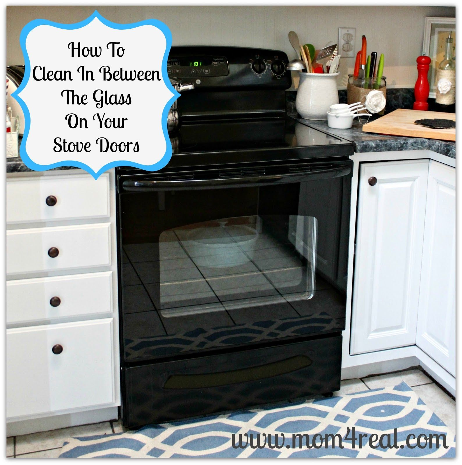A step by step tutorial showing how to clean that area in between a step by step tutorial showing how to clean that area in between the glass on your oven doors stove cleaning and glass eventelaan Choice Image