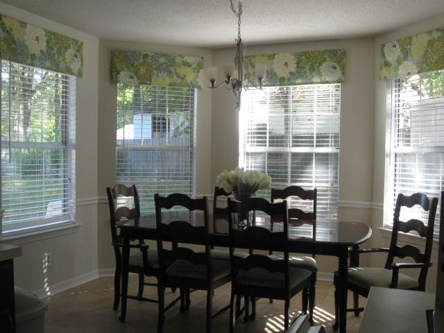 Bean In Love Hung Over  Easy Valance Instructions  Sewing And Pleasing Dining Room Valance Design Ideas