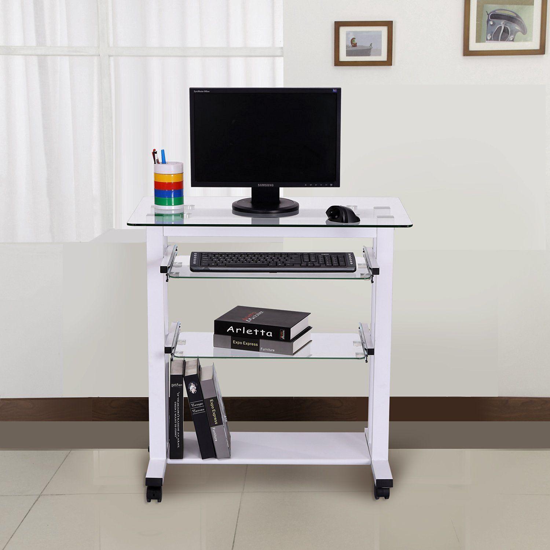Mesa De Ordenador Pc Oficina Despacho Escritorio Estante  ~ Mesas De Escritorio Para Ordenador