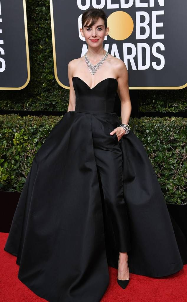 51e19bb9b07 Dress to Room Pairings  Golden Globes 2018. Alison Brie from 2018 Golden  Globes Red Carpet Fashion In Vassilis Zoulias